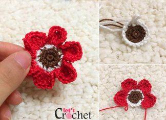 The Mini Flower Crochet Free Pattern
