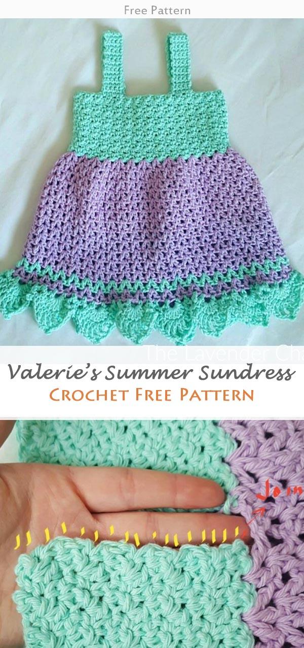 Valerie's Summer Sundress Crochet Free Pattern