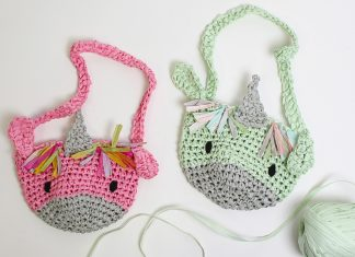 kid's Unicorn Bag Crochet Crochet Free Pattern