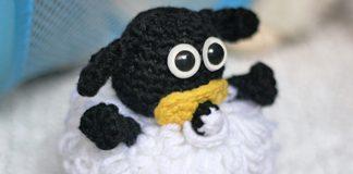 Baby Sheep Shaun Crochet Free Pattern