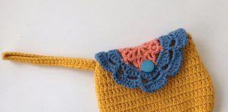 Easy Flower Purse Crochet Free Pattern