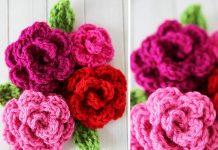 Free Easy Rose Crochet Free Pattern