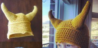 Child Superhero Thor & Loki Hat Crochet Free Pattern