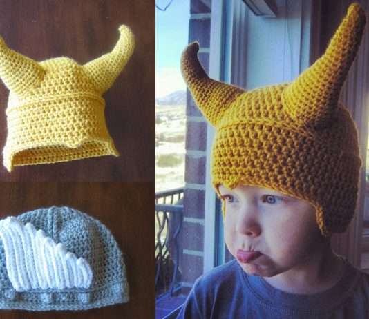 Child Superhero Thor & Loki Hat Crochet Free Pattern