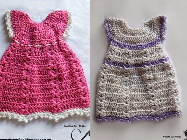 Sophia Gown Dress Crochet Free Pattern