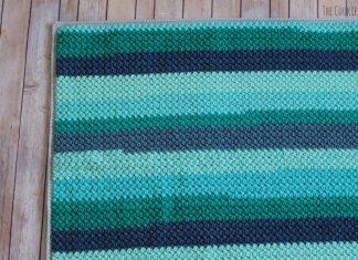 Legume Lagoon Blanket Crochet Free Pattern