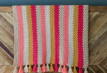 Granny Stitch Blanket Crochet Free Pattern
