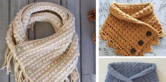 Little Stories Cowl Free Crochet Pattern