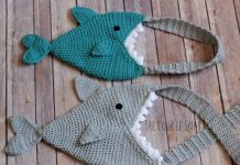 Shark Bag Crochet Free Pattern