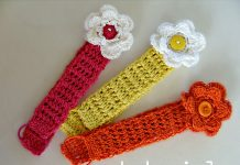 Baby Head Bands Crochet Free Pattern