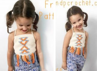 Crochet Free Pattern: Aztec Top for baby and toddler