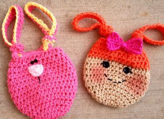 Kid's Loopy Treat Bags Crochet Free Pattern
