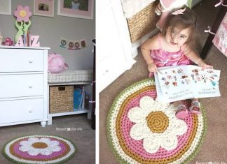 Crochet The Daisy Rug For Free Pattern