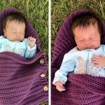 Newborn Sleep Sack Crochet Free Pattern
