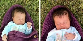 Newborn Sleep Sack Crochet Free Pattern