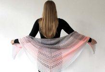 Bella Vita Shawl Crochet Free Pattern