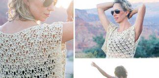 Canyonlands Boho Dress Crochet Top – Crochet Free Pattern