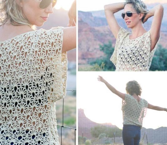 Canyonlands Boho Dress Crochet Top – Crochet Free Pattern