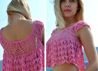 Summer Top Crochet Free Pattern