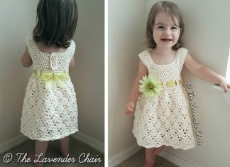 Vintage Toddler Dress Crochet Free Pattern