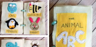 Animal ABC Book Crochet Free Pattern