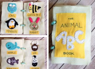 Animal ABC Book Crochet Free Pattern