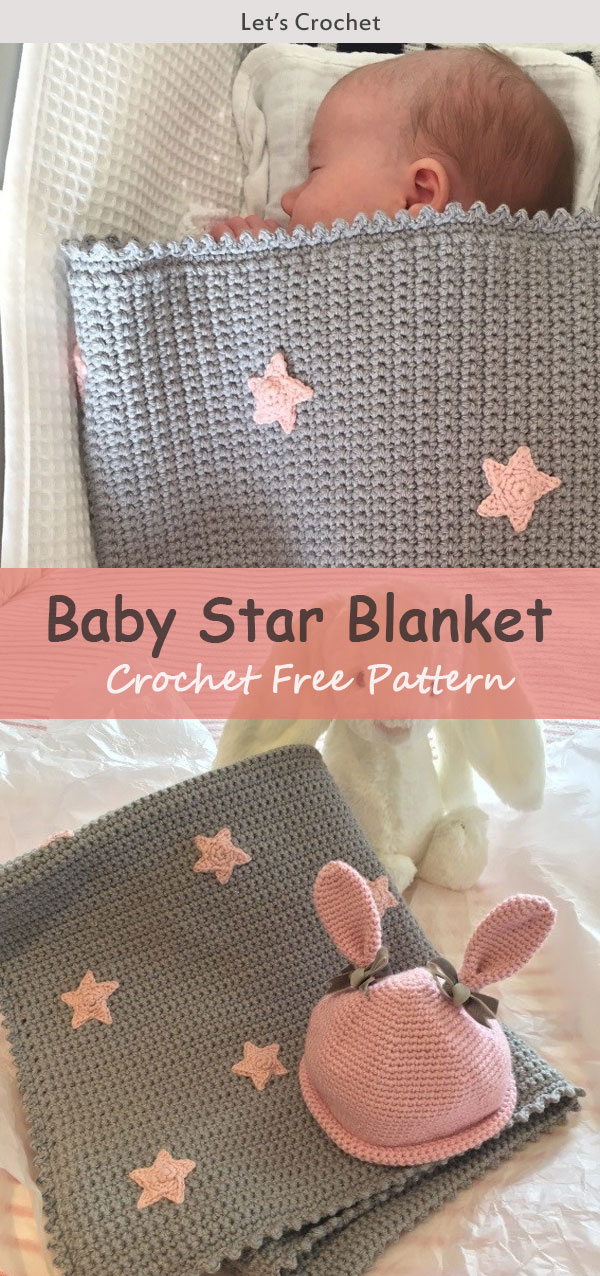 Baby Star Blanket Crochet Free Pattern