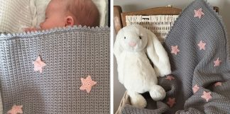 Baby Star Blanket Crochet Free Pattern