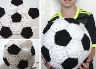 Crochet Soccer Football Free Pattern