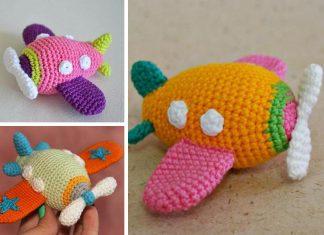 Amigurumi Airplane Crochet Free Pattern