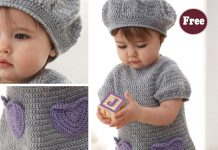 Crochet Baby Sweet Dress Free Pattern