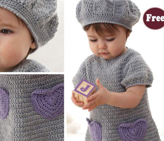 Crochet Baby Sweet Dress Free Pattern