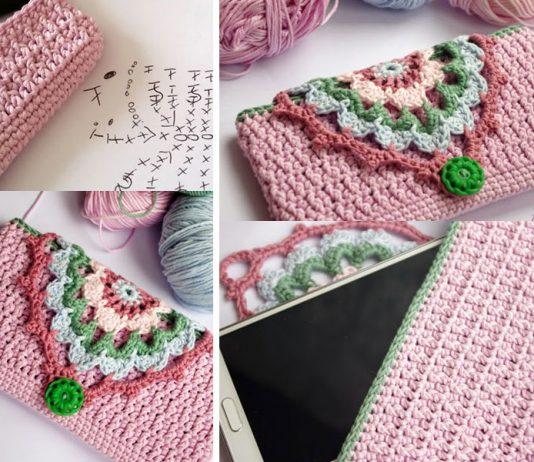Hook Phone Case Purse Crochet Free Pattern