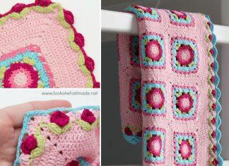Crochet Lydia Blanket Free Pattern