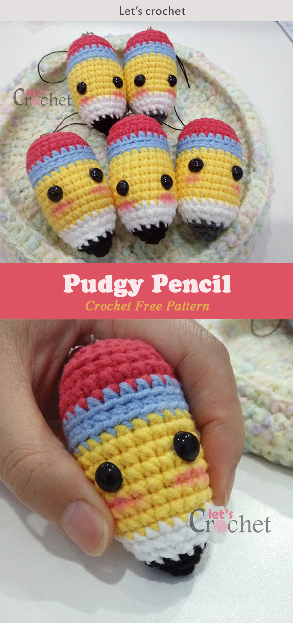 Pudgy Pencil Crochet Free Pattern