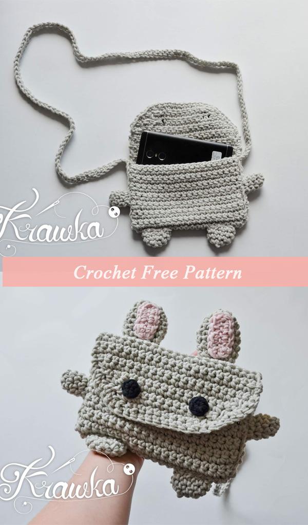 Crochet Cute Bunny Bag Free Pattern
