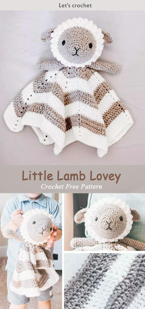 Baby amigurumi & lovey pattern set – Amigurumi Designs by Dani | 1276x600