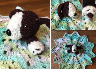 Crochet Little Dog Security Blanket Free Pattern
