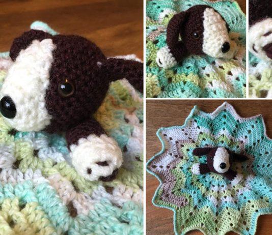 Crochet Little Dog Security Blanket Free Pattern