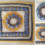 Tuscan Flower Square Free Crochet Pattern