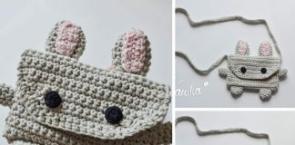 Crochet Cute Bunny Bag Free Pattern