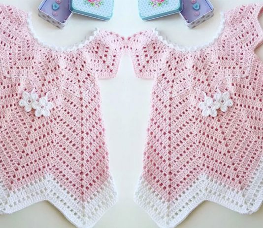 Baby Blossom Summer Dress | Free Crochet Pattern