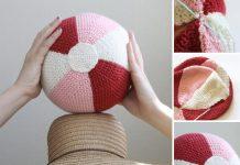 DIY Beach Ball: Crochet Ball Free Pattern