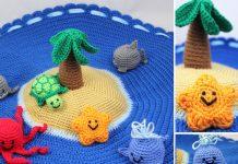 Crochet Island Play Set Free Pattern