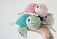 Crochet Turtle Toy Free Pattern