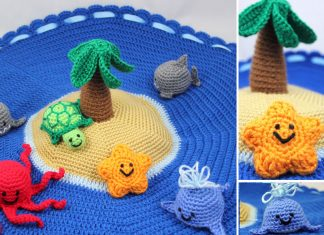 Crochet Island Play Set Free Pattern