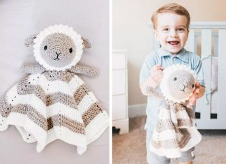 Crochet Little Lamb Lovey Free Pattern