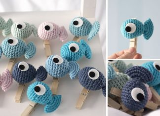 Crochet Amigurumi Fish Toy Free Pattern