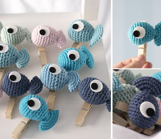 Crochet Amigurumi Fish Toy Free Pattern