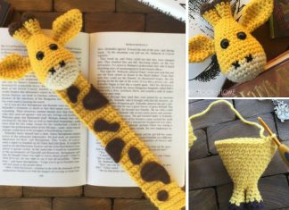 Giraffe Bookmark Amigurumi Crochet Free Pattern